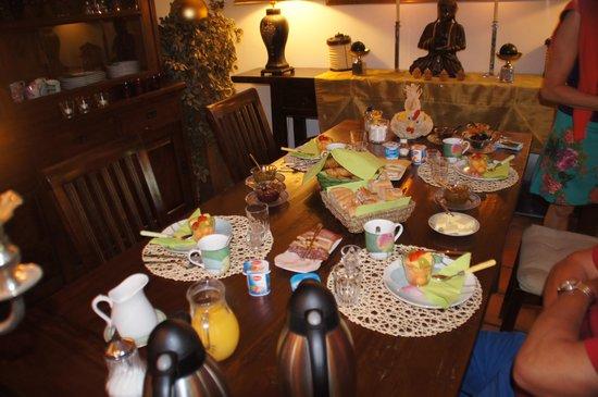Le Noyer Résidence : het ontbijt