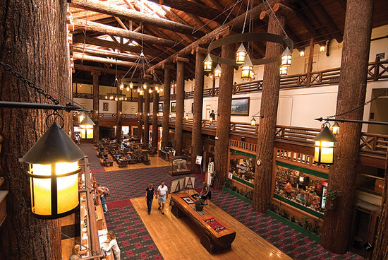 Glacier Park Lodge Lobby Picture Of Glacier National