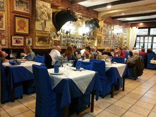 Restaurante Casa Riquelme: Dia que estuvimos allí