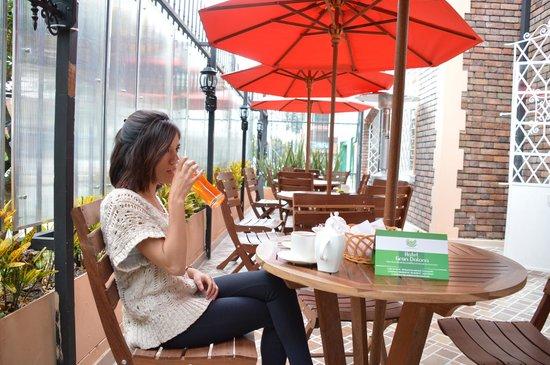 Hotel Gran Dalona: Cafeteria
