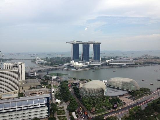 Swissotel The Stamford Singapore: View from Room 4052