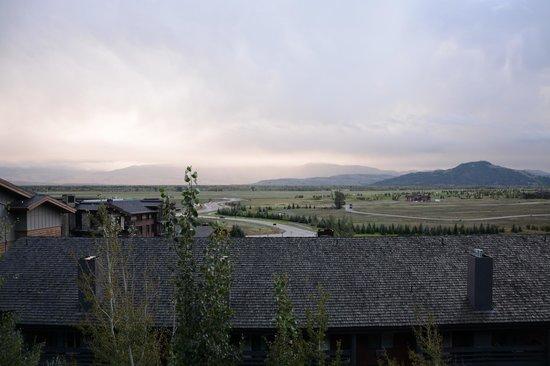 Teton Mountain Lodge & Spa - A Noble House Resort: Jackson Hole valley