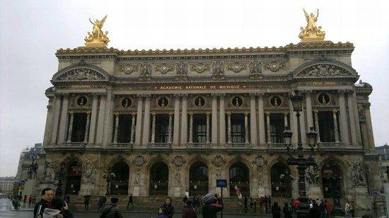 Palais Garnier - Opéra National de Paris: Belíssima arquitetura.