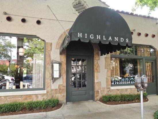 Highlands Bar Grill Birmingham Menu Prices Restaurant