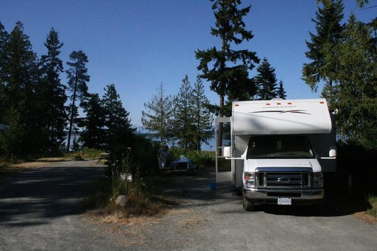 Living Forest Oceanside Campground & RV: Onze plek