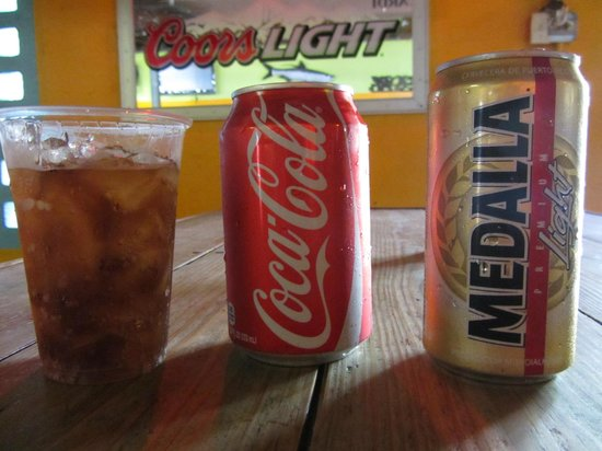 El Batey: Cold drinks for a hot day