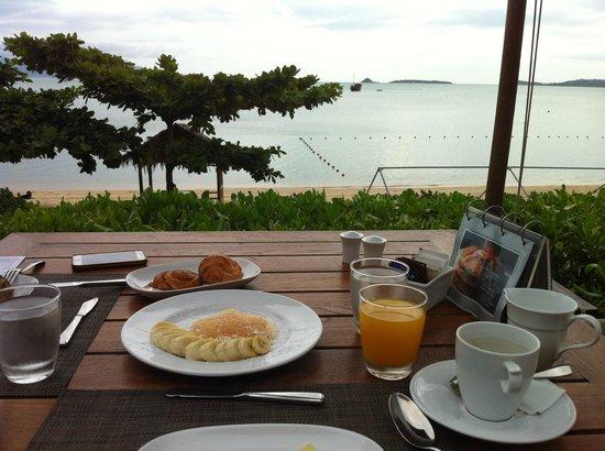 Hansar Samui Resort : breakfast view