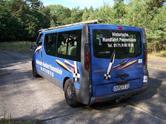 Peenemünde, Γερμανία: Het voertuig