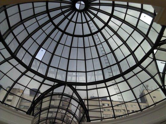 Shopping Patio Higienopolis: Vista do teto