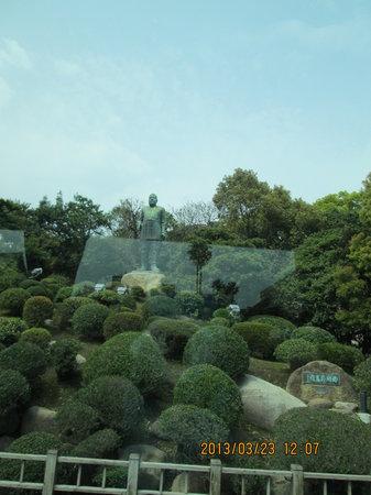 Saigo Takamori Statue: 正面像