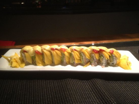 Kiyens: Mango roll