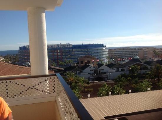 Aparthotel Parque de la Paz : perfect views from room 405