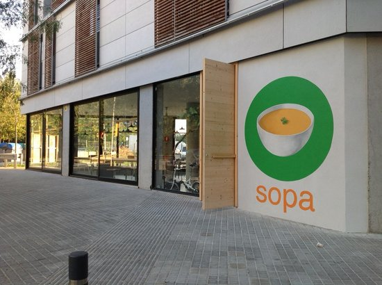 Photo of Mediterranean Restaurant Sopa at Roc Boronat 114, Barcelona 08018, Spain