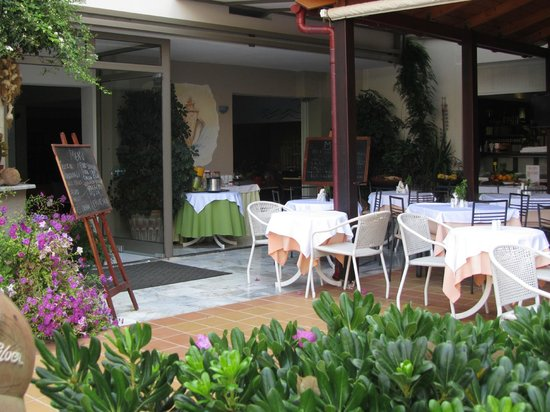 Hotel Ilios: Restauranten