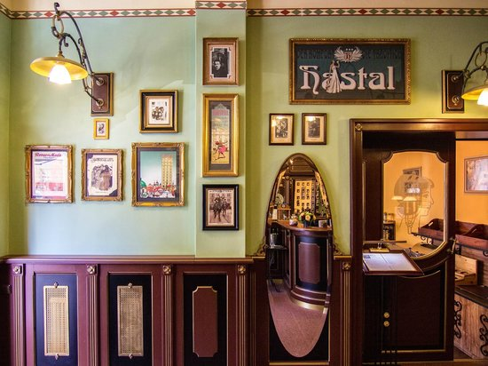 Hotel Hastal Prague Old Town: Rception