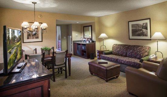 Lake Tahoe Resort Hotel : Living Room Standard Suite