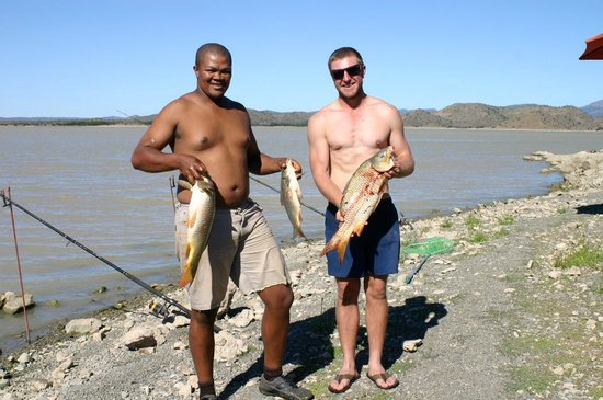 Greater Addo, Sudáfrica: Darlington Dam fishing