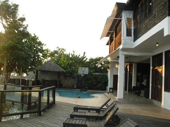 Villas Sur Mer: Main Villa Pool Area