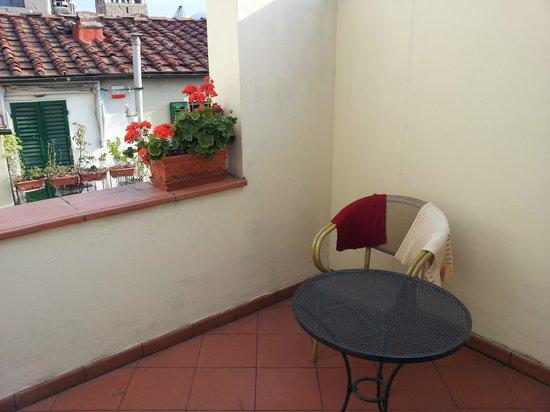 Hotel Laurus al Duomo: The private patio