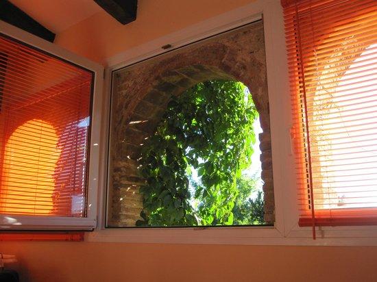 Hotel El Cau de Papibou: Our bedroom looking outward
