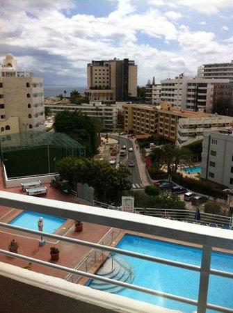 Tamaragua Apartments: Wiok z apartamentu na ostatim piętrze
