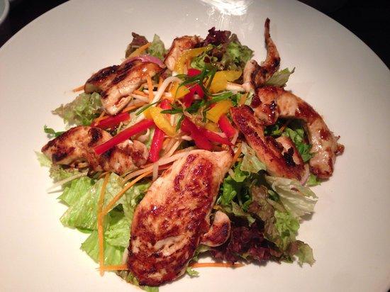 Dim T - West End: Japanese glazed chicken salad