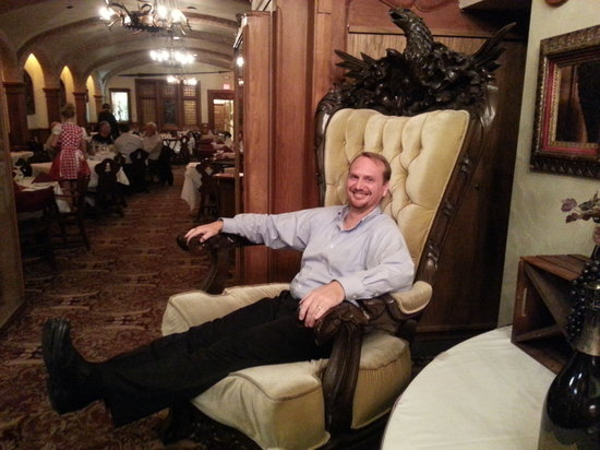 Mader's: Some fun in the big chair