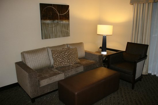 The Valley River Inn: Sitting Area
