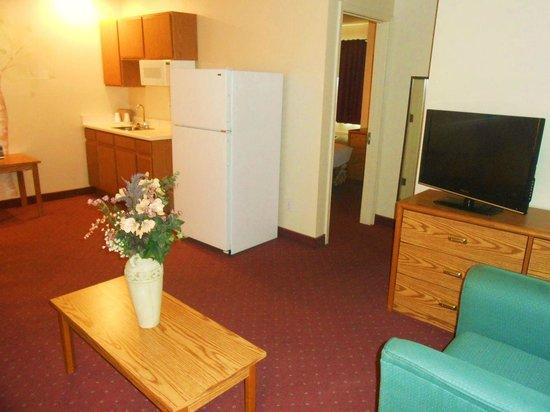 The Plaza Hotel Carson City: Queen Suite