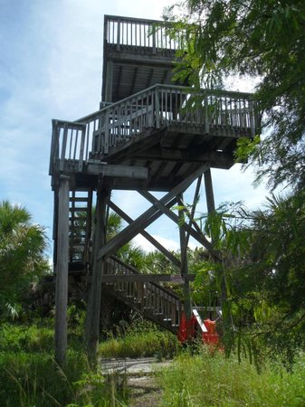 Rotary Park Environmental Center: a lookout tower that should be fixed!