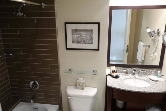 Fairmont Winnipeg: bathroom