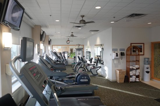 Fairmont Winnipeg: gym