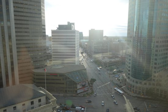 Fairmont Winnipeg: View