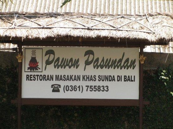 Pawon Pasundan: Restaurant details