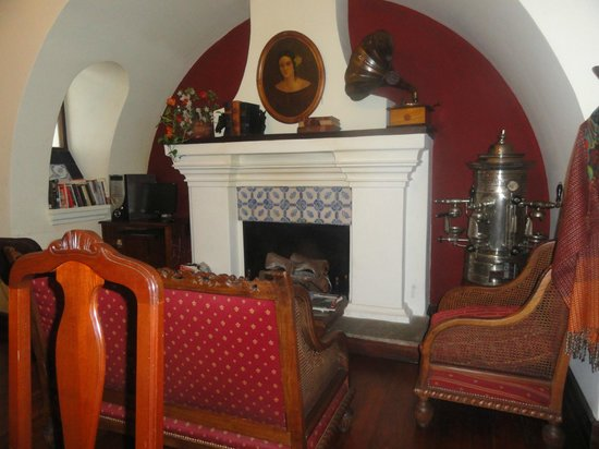 Hotel del Virrey: Donde desayunamos!
