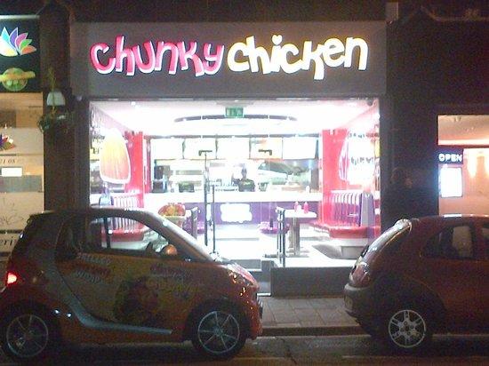 Chunky Chicken at Night