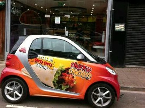 Chunky Chicken: The Chunky Car for Deliveries