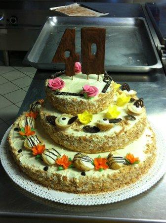 martoranello torta compleanno 40 anni