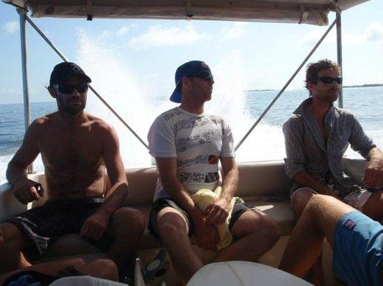 Cokes Beach Maldives: Boat trip to Sultans