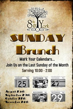 8th and York: Sunday Brunch