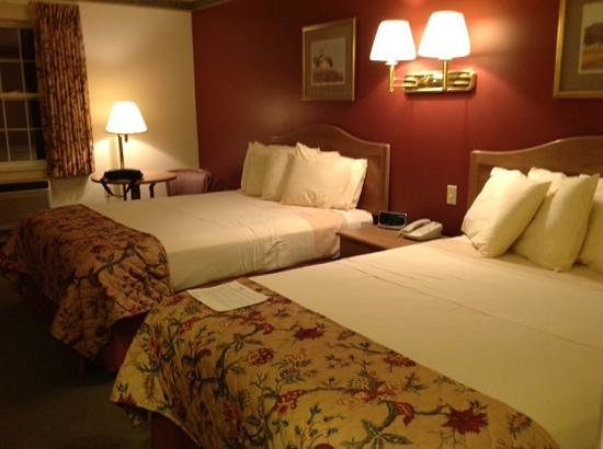 cozy room at Acadia Inn!