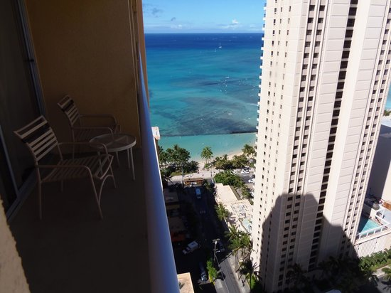 Pacific Beach Hotel: view from our 31st floor