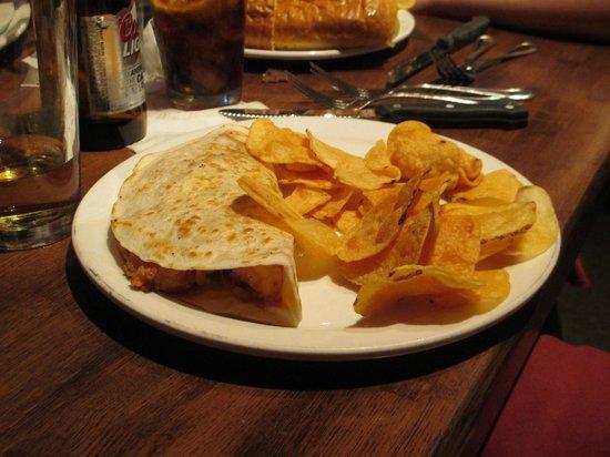 Morgan's Tavern & Grill: Shrimp Quesodilla