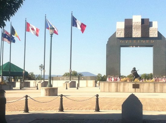 National D-Day Memorial: Allied Support and Cooperation