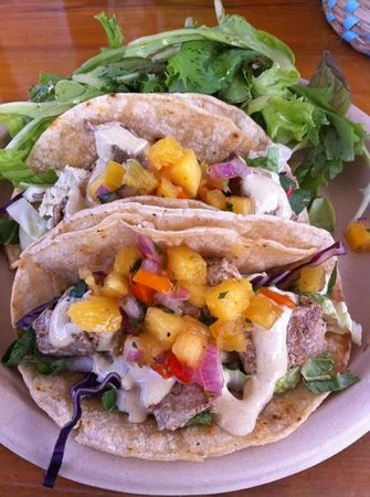 Sweet Home Waimanalo: tacos de poisson
