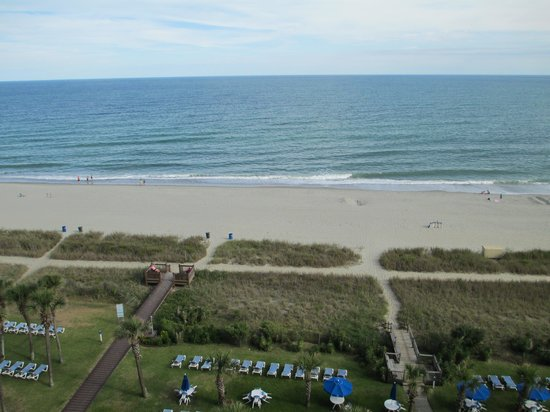 Boardwalk Beach Resort: view from the 8th floor