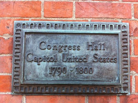 Independence Hall: Wall Plaque