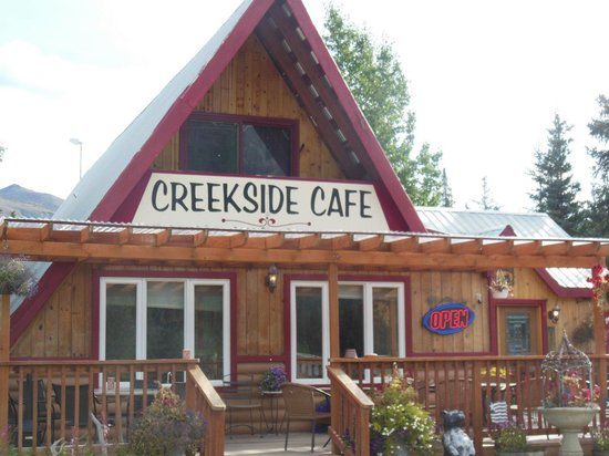 McKinley Creekside Cafe: The cafe from the road