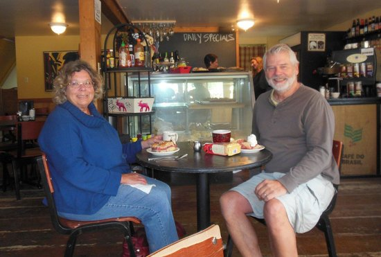 McKinley Creekside Cafe: At our table