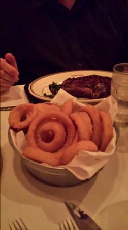 Kaminski's Chop House: The Onion Rings.